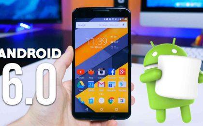 Aggiornamento Android 6.0 Nexus 5, 6, 7 e 9: la data ufficiale