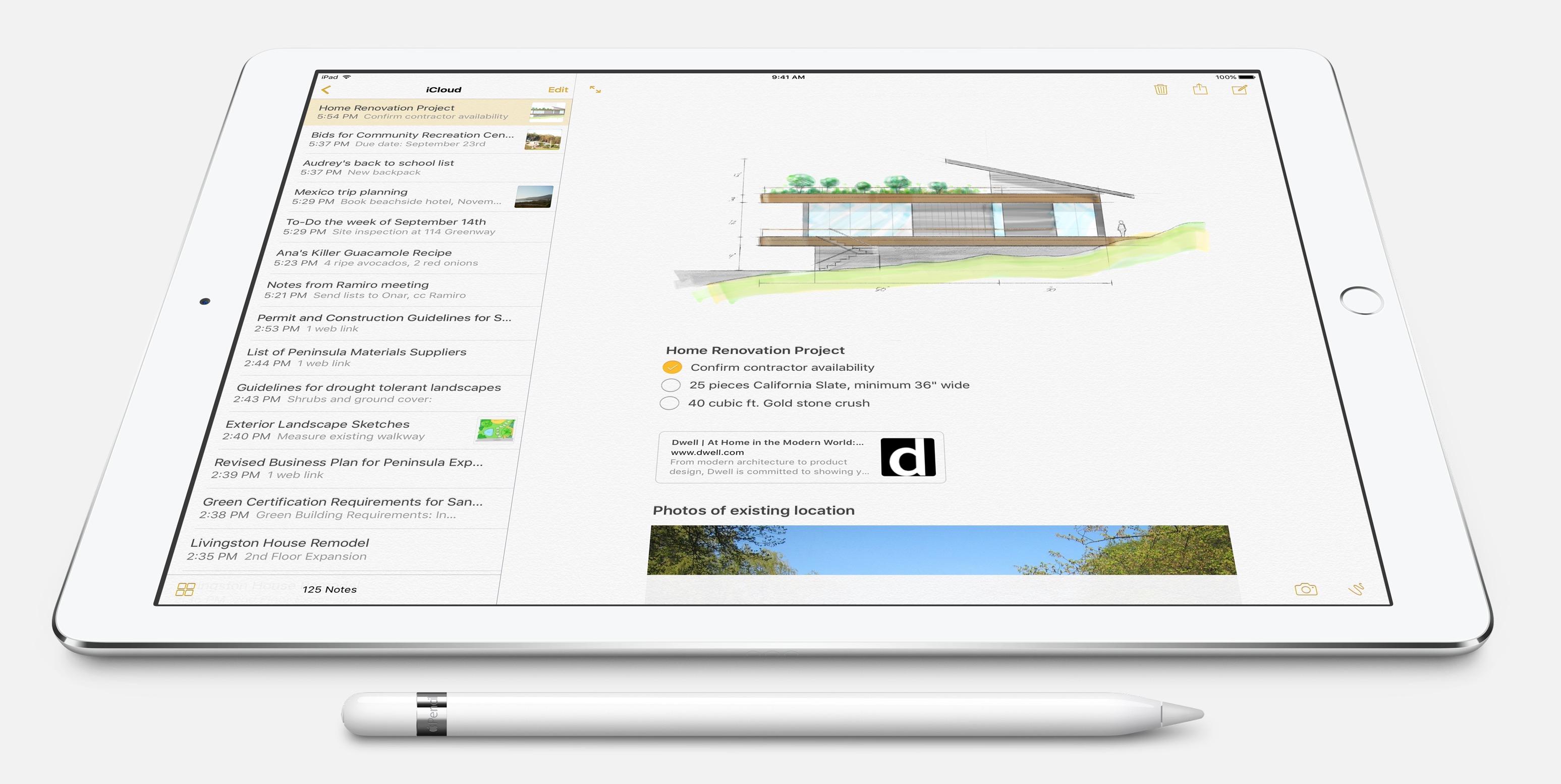 Apple Pencil per iPad Pro