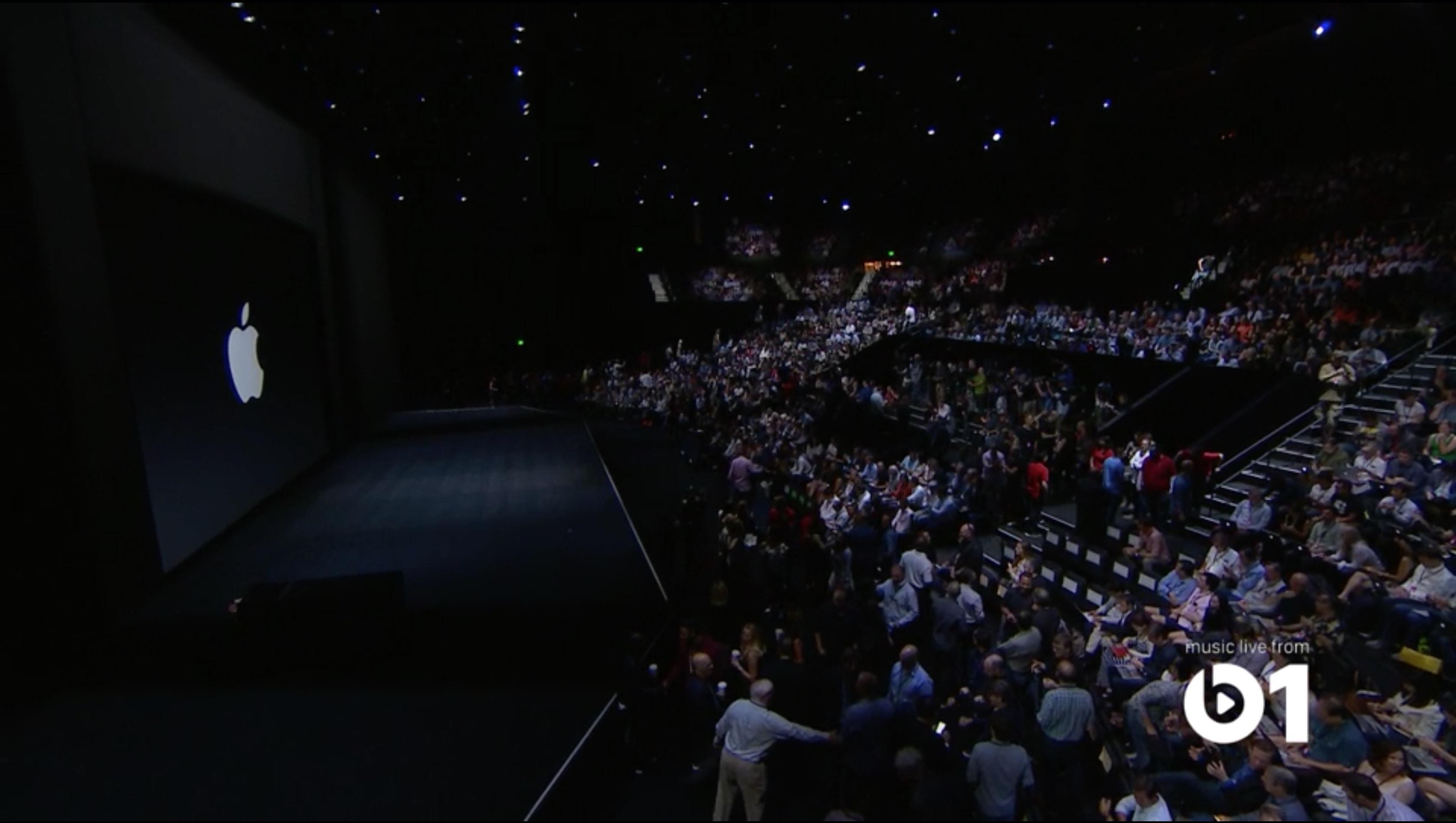 Apple stage evento 9 settembre