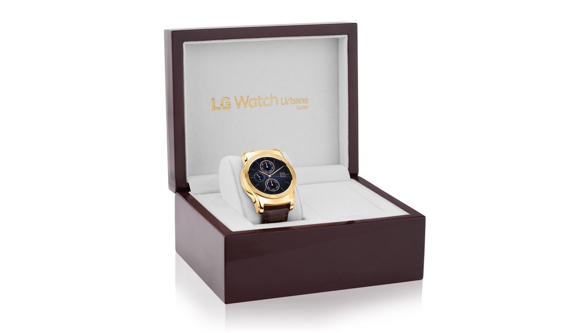 Box LG Watch Urbane Luxe