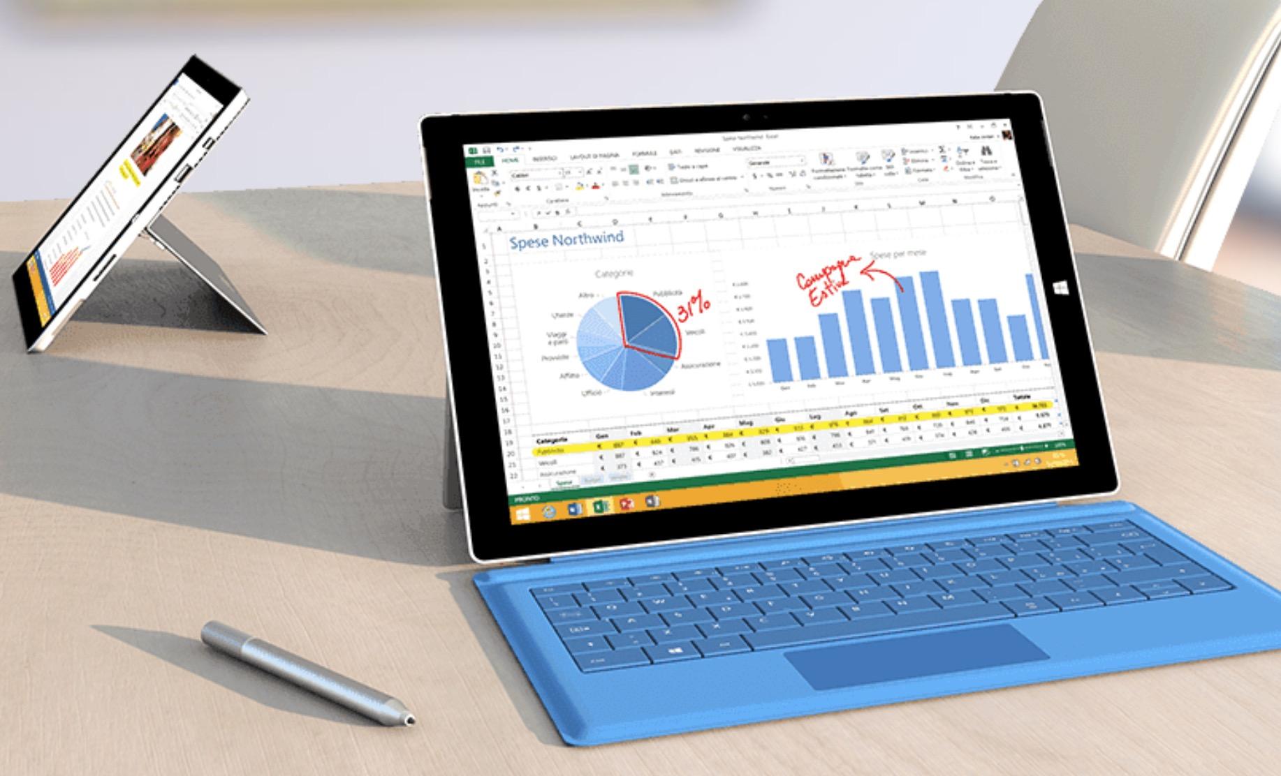 Display Microsoft Surface