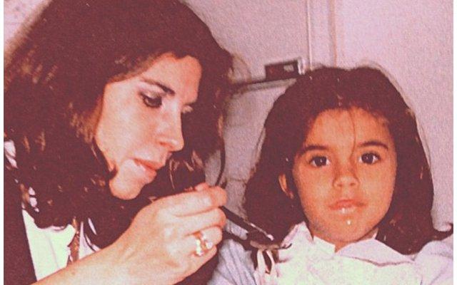 Elisabetta Canalis da bambina
