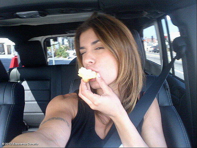 Elisabetta Canalis selfie
