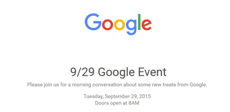 Evento Google 29 settembre