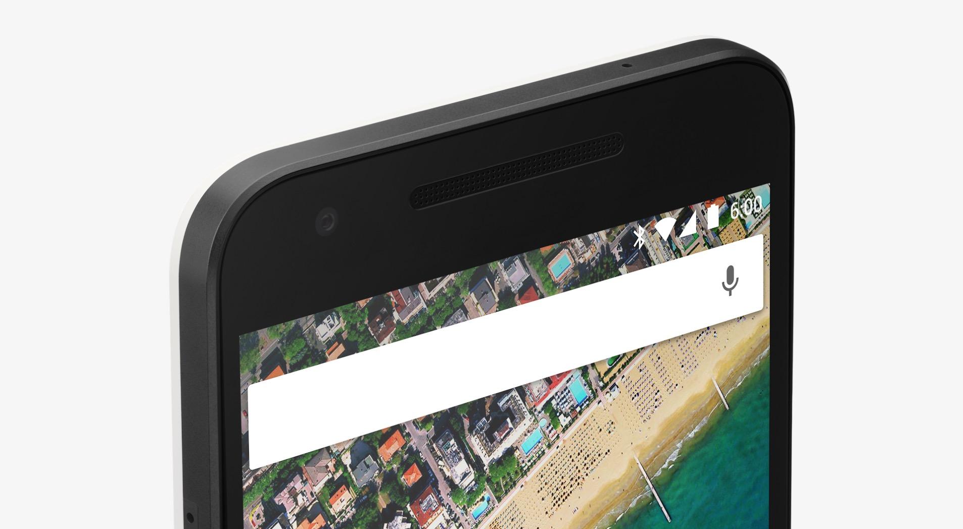 Fronte top Nexus 5X