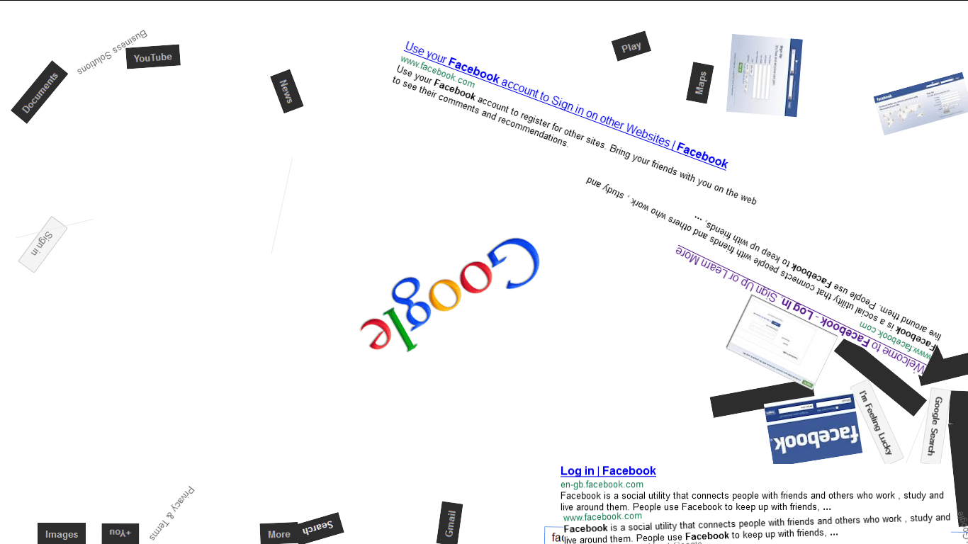 Google Gravity tricks