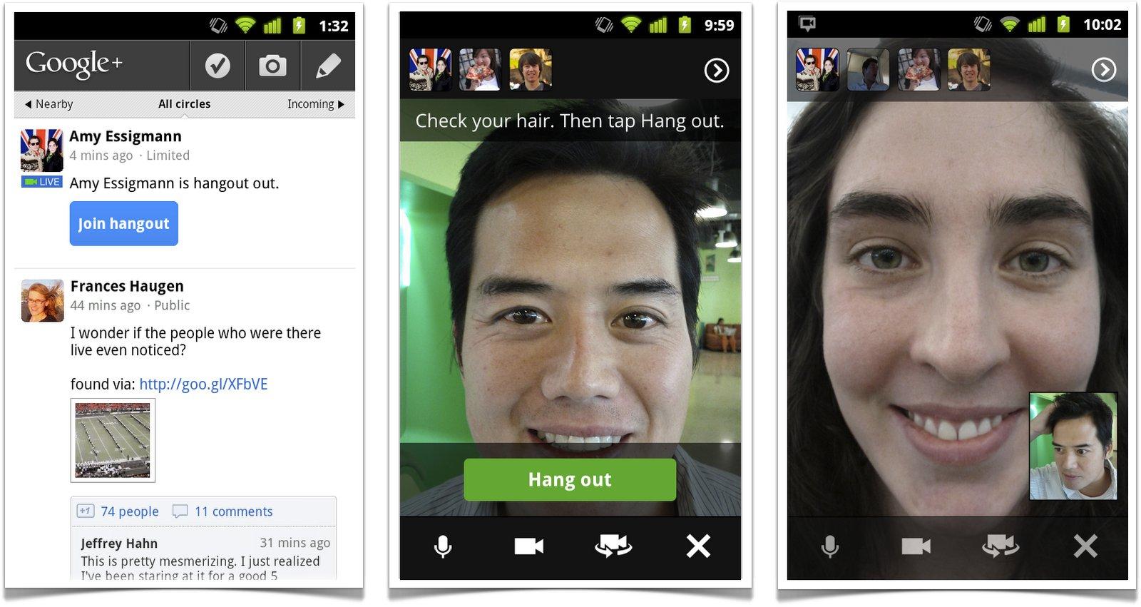 Google Hangoust l'alternativa più valida a Skype