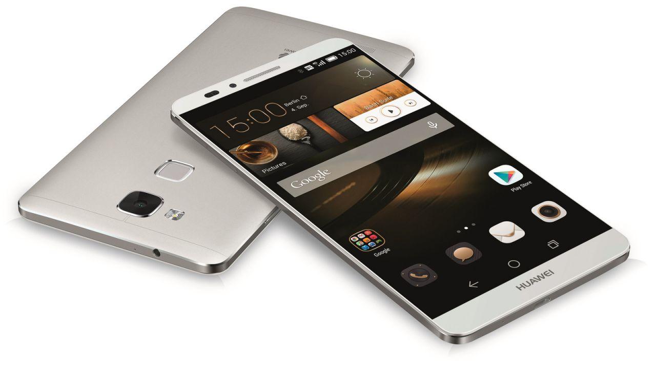 Huawei Mate S design