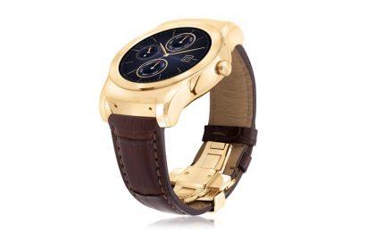 LG Watch Urbane Luxe, lo smartwatch in oro e pelle di alligatore