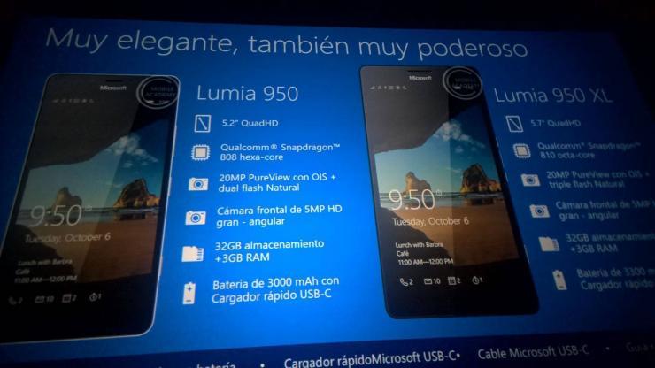 Lumia 950 e Lumia 950 XL