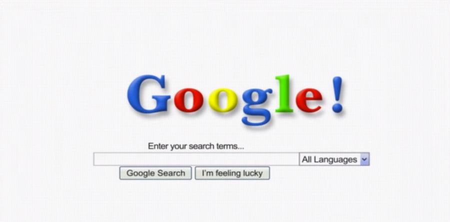 Primo logo Google online
