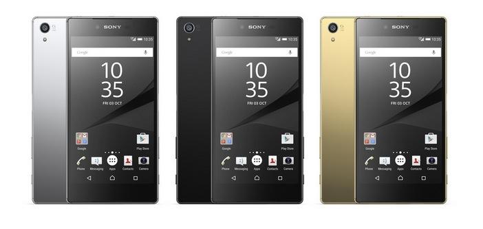 Sony Xperia Z5 foto ufficiale