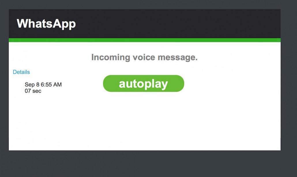 WhatsApp virus email della segreteria telefonica