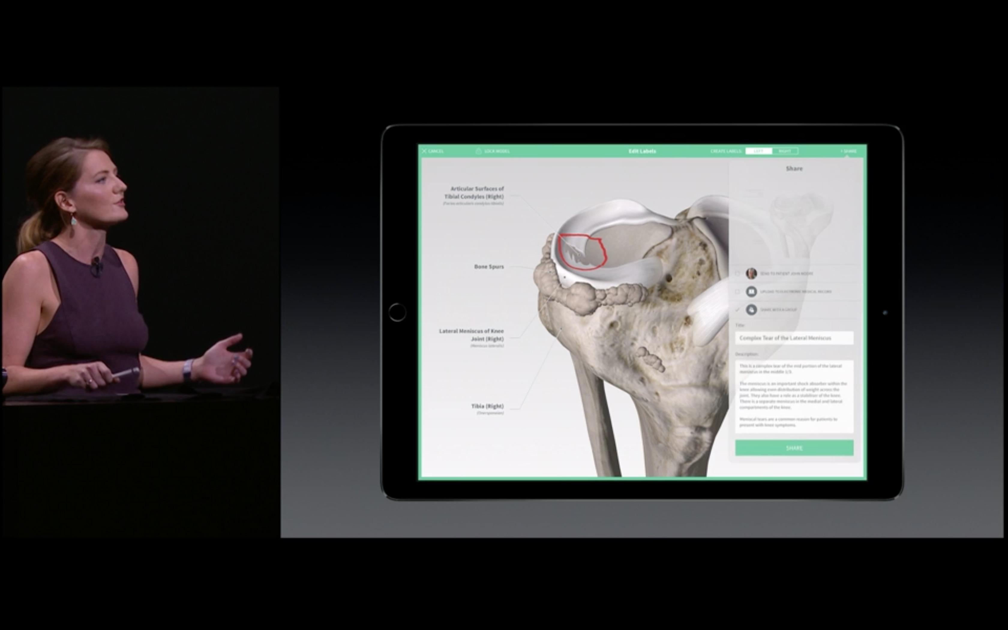 iPad Pro, Apple Pencil e medicina