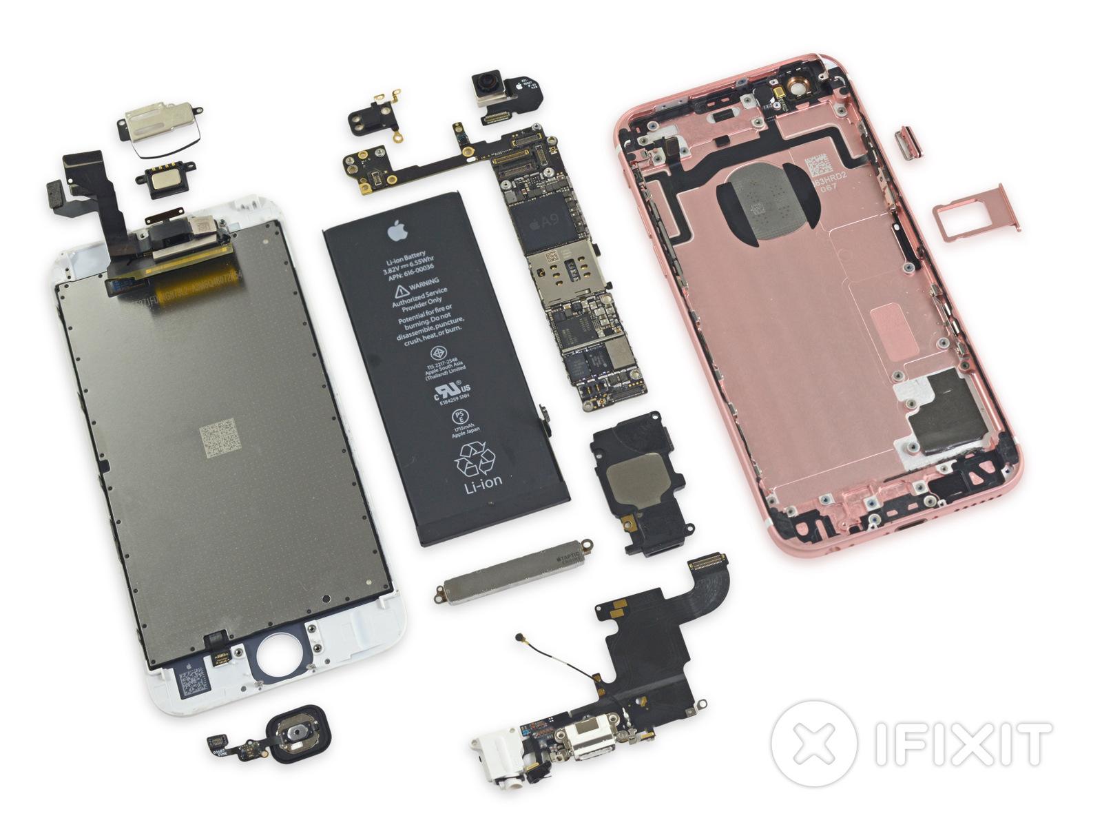 iPhone 6s componenti