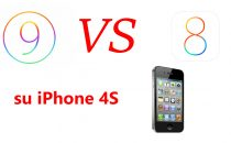 iOS 9 vs iOS 8 su iPhone 4S: il confronto