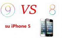 iOS 9 vs iOS 8 su iPhone 5: il confronto