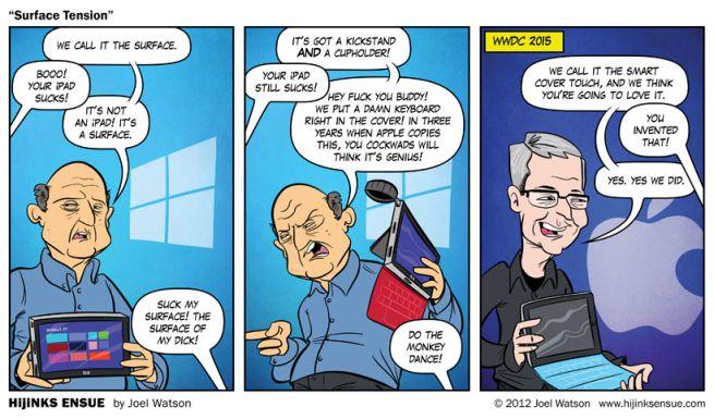 previsione ipad pro parodia 2012