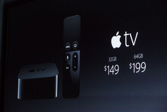 Apple TV prezzi 2015