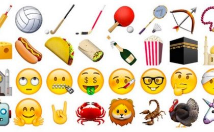 Emoji iPhone: dal dito medio alle corna le 150 nuove da conoscere
