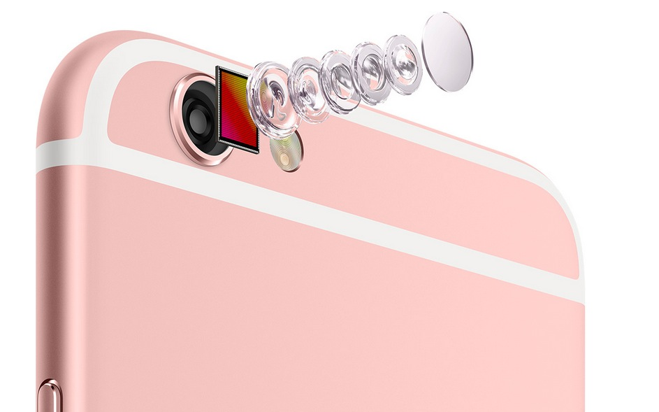 Fotocamera di iPhone 6S e 6S Plus