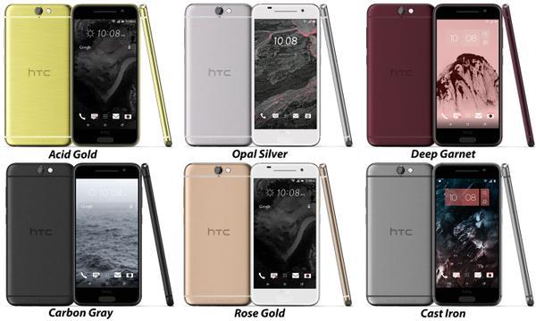 HTC One A9colori