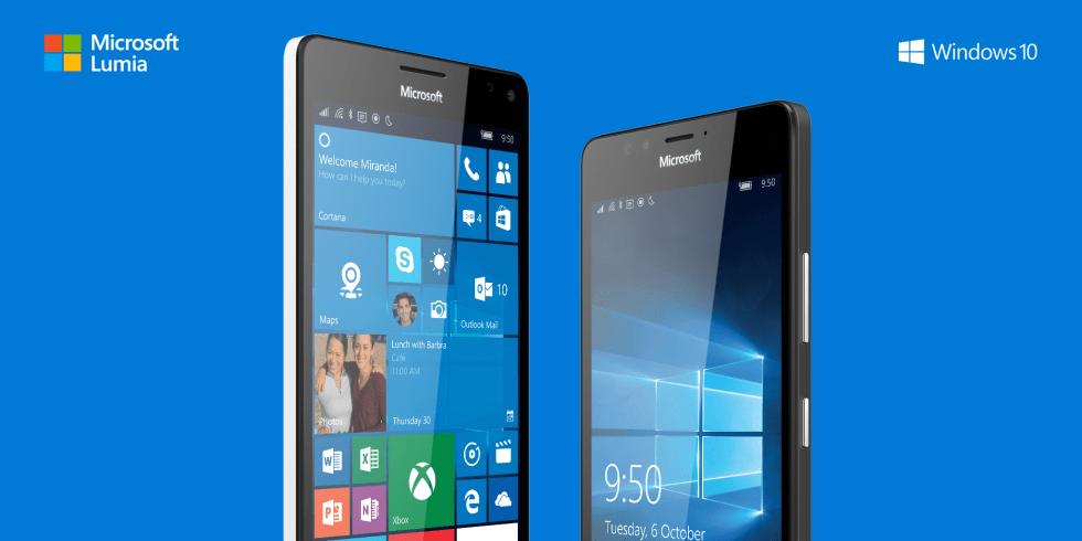 Lumia 950 vs Lumia 950 XL display
