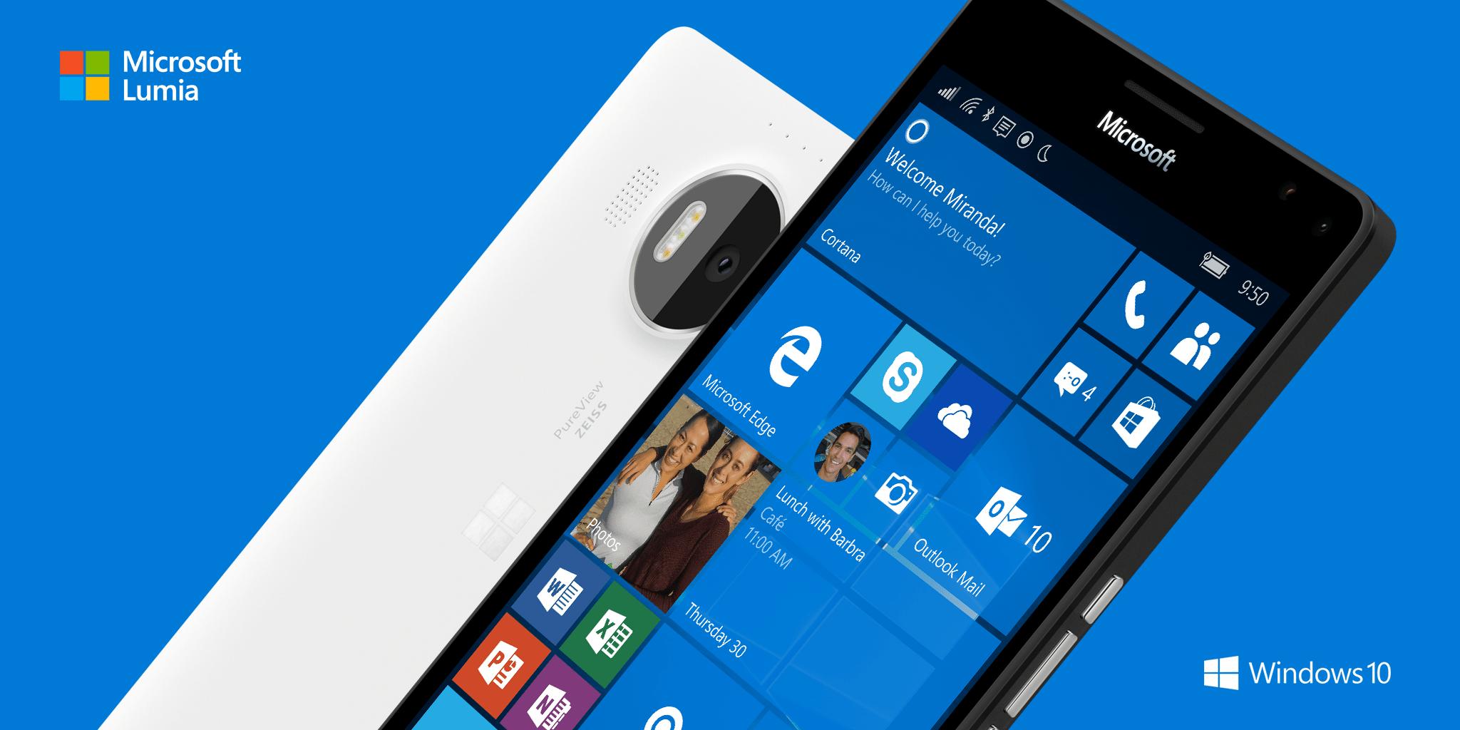 Lumia 950 vs Lumia 950 XL fotocamere