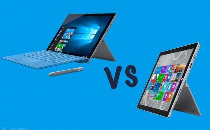 Surface Pro 4 vs iPad Pro: sfida tra super tablet