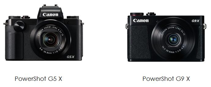 Canon PowerShot G5 X, PowerShot G9 X: prezzo e prestazioni