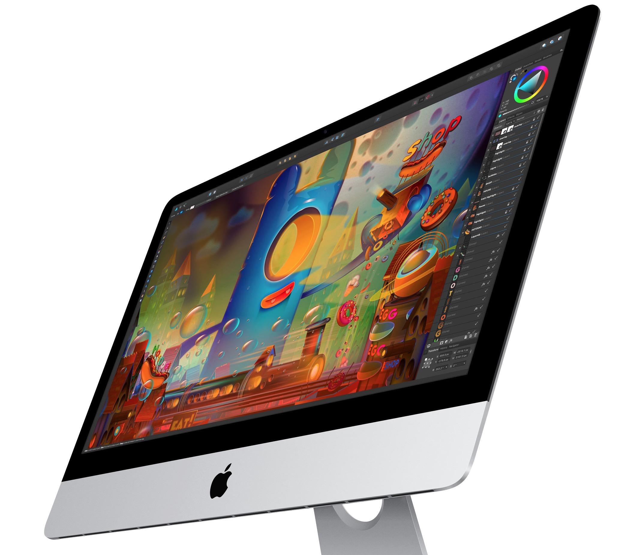 iMac di lato