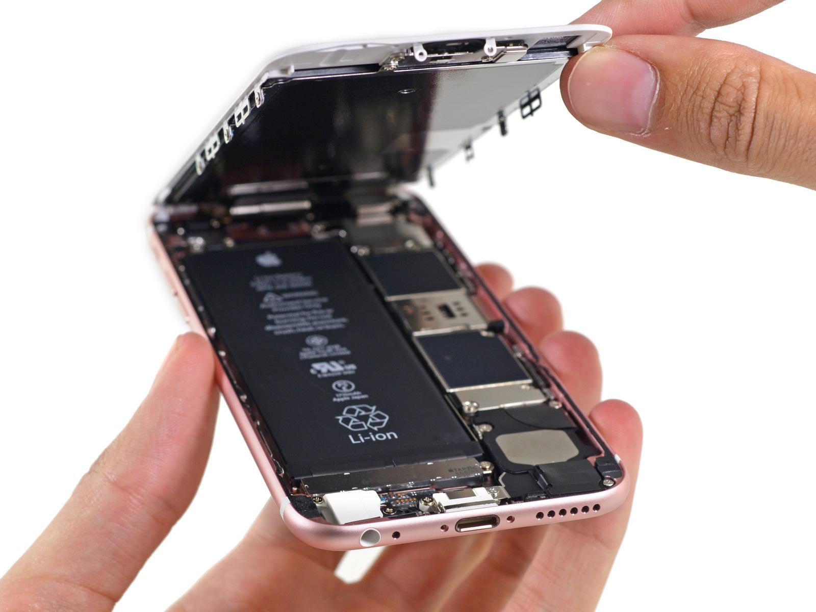 iPhone 6s componenti interni