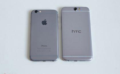 HTC One A9 vs iPhone 6s: confronto, qual è il migliore?