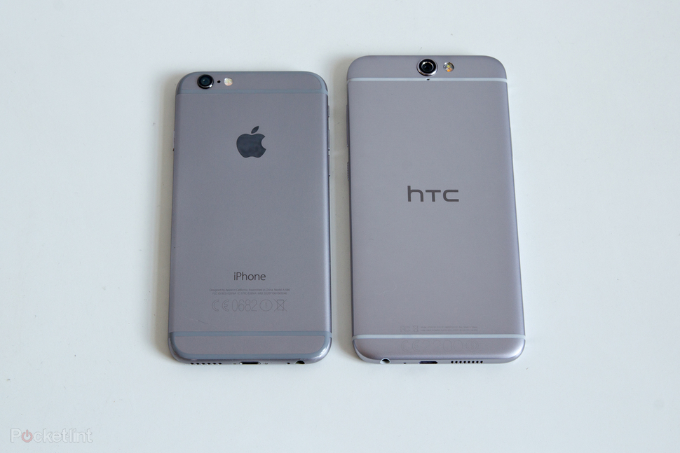 iPhone 6s vs HTC One A9