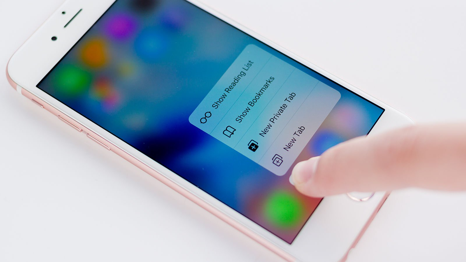 3D Touch su iPhone