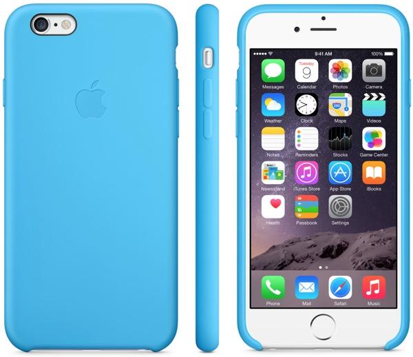 Apple Case azzurro
