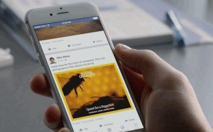 Facebook Notify: l'app dell'informazione in tempo reale