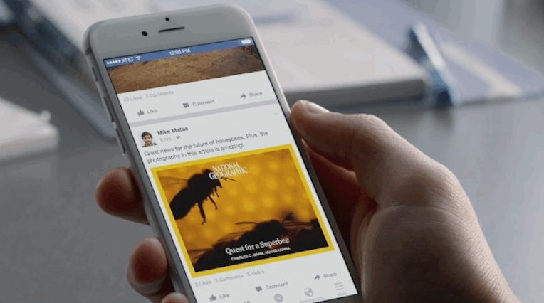 Facebook Notify: l'app dell'informazione in tempo reale