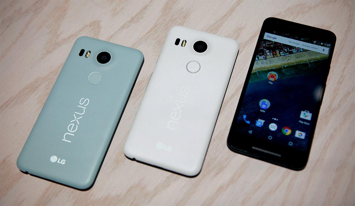 Fronte e retro Nexus 5X