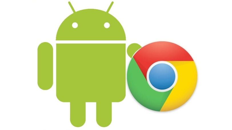 Loghi Android e Chrome OS
