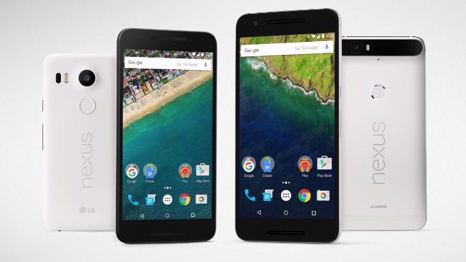 Nuovi Nexus 5x 6p