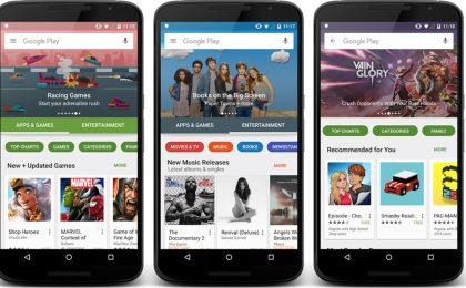 Google Play Store aggiornamento: la nuova versione è disponibile