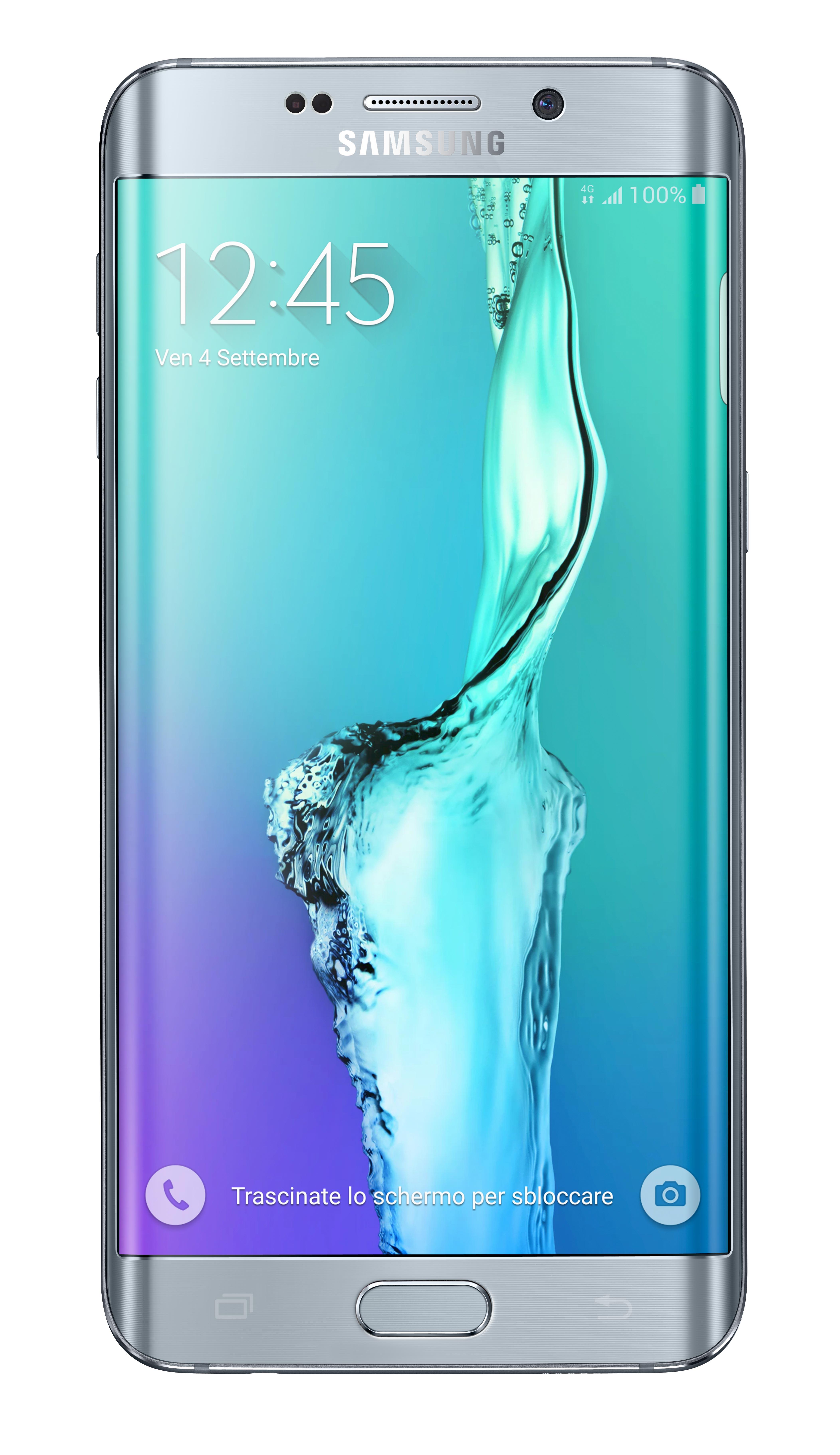 Samsung Galaxy S6 Edge Plus: la versione Titanium Silver