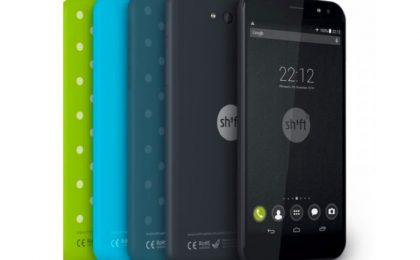 Shift5+ lo smartphone modulare con Android o Windows 10