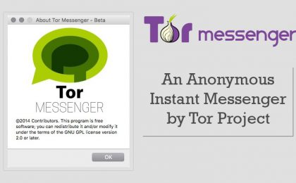 Tor Messenger, la chat inviolabile