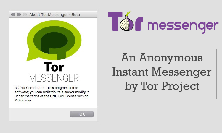 Tor Messenger, la chat inviolabile
