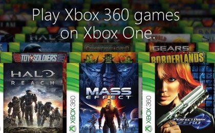 Xbox One: retrocompatibilità Xbox 360