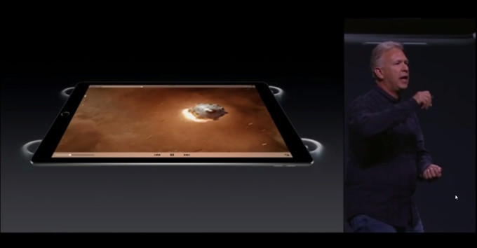 iPad Pro quad speakers