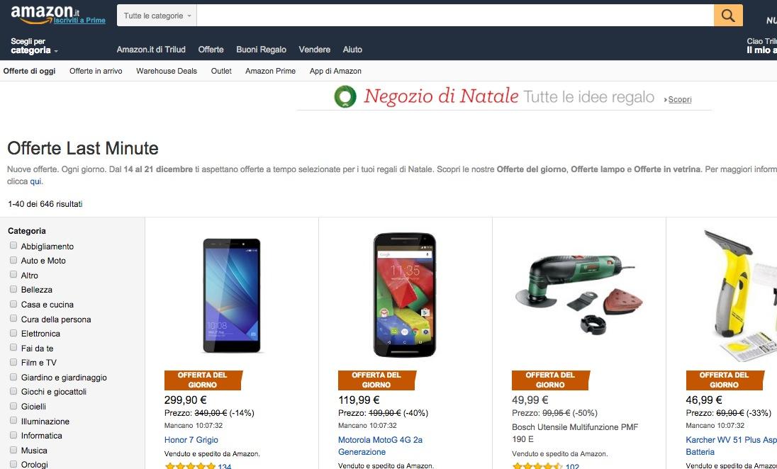 Amazon Last Minute