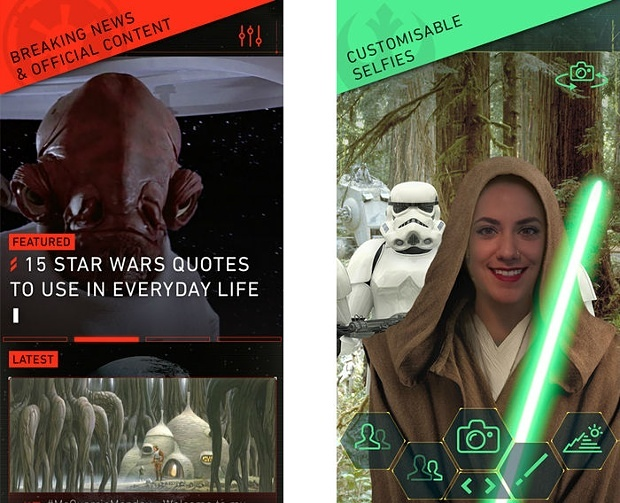 App Star Wars
